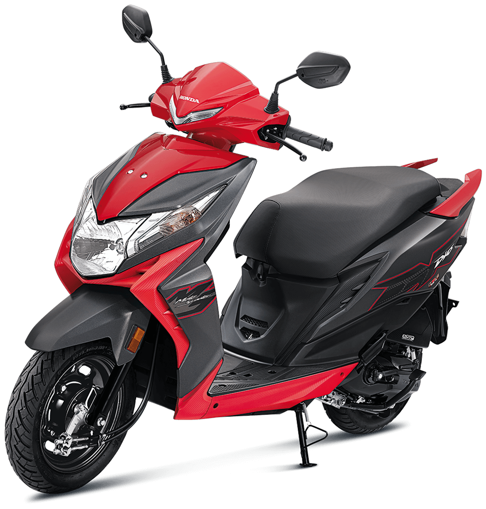 palacehonda-Dio-BS6-StandardRed