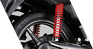 Planet Honda -  Shine-BS6-5-stepadjustable_suspension