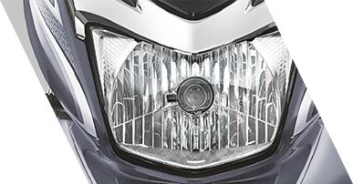Planet Honda - Shine BS6 Dc_headlamp