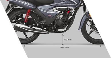 Planet Honda - Shine BS6 More_ground_clearance_&wheelbase